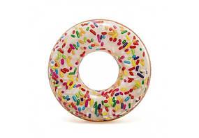 Надувной круг  Пончик Intex 56263