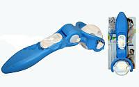 Массажер-ручной роликовый раздвижной PS MS-10 (пластик, I-23 см)