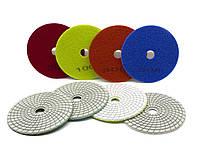 Набор Черепашек D-125мм 7шт. алмазных гибких шлифовальных кругов