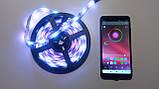 Светодиодная лента RGB с пультом и Bluetooth, USB, 5м (5V/5050/RGB)(7680), фото 7