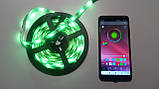 Светодиодная лента RGB с пультом и Bluetooth, USB, 5м (5V/5050/RGB)(7680), фото 6
