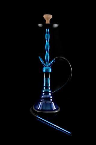 Кальян Kaya Marina Brass 630CE Click Blue 4S