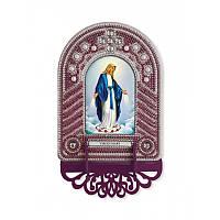 """Набір для створення ікони з вишитою рамкою-кіотом """"Virgin Mary"""""""""""