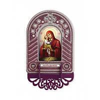 """Набір для створення ікони з вишитою рамкою-кіотом """"Богородиця Почаєвська"""""""