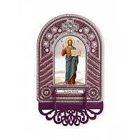 """Набір для створення ікони з вишитою рамкою-кіотом """"Господь Іісус Христос"""""""