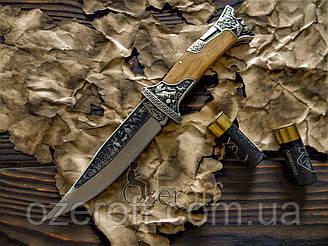Складной охотничий нож Colunbia с гравировкой 27см