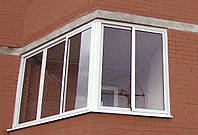 Остекление лоджии,Раздвижные окна на балкон