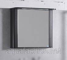 Зеркальный шкаф с подсветкой 76 см Carla Буль-Буль Венге