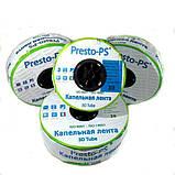 Капельная лента Presto-PS эмиттерная 3D Tube капельницы через 15 см  расход 2.7 л/ч, длина 1000 м (3D-15-1000), фото 2
