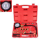 Манометр для вимірювання тиску палива універсальний Rewolt (T7004), фото 3