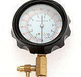 Манометр для вимірювання тиску палива універсальний Rewolt (T7004), фото 5