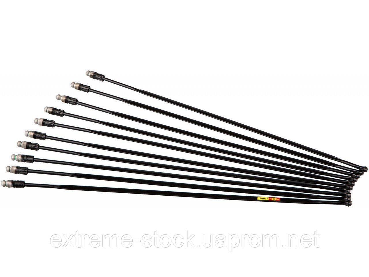 Спиця 291мм Mavic v3660401 - KSYRIUM DISC 18, передня/задня ліва, сталь, чорна