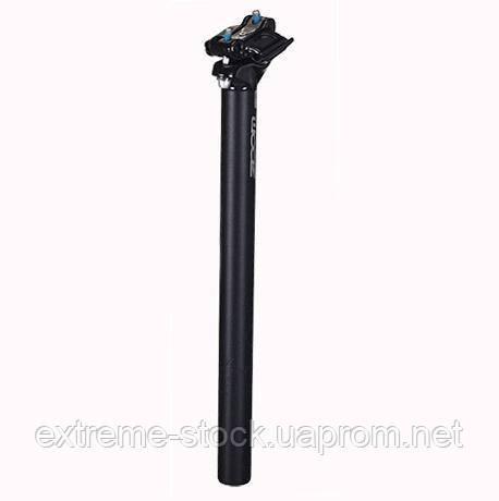 Підсідельна труба ZOOM SP-C239/ISO-M, 27,2х400мм, литий алюміній, SAND BLASTED AN BK