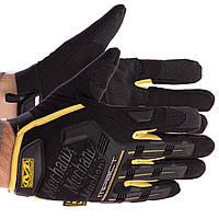 Закриті рукавички тактичні MECHANIX BC-5629, M Чорно-жовтий