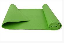 Йогамат, коврик для йоги MS 1184 из ПВХ (Зелёный)