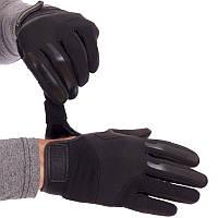 Тактичні рукавички з закритими пальцями BLACKHAWK BC-4924 M Чорний