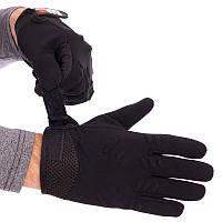 Тактичні рукавички з відкритими пальцями MECHANIX BC-4926-L, L Чорний