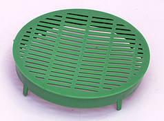 Колпачок круглий пластмасовий, 100 мм