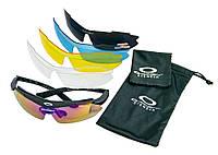 Тактические очки с поляризацией Oakley с диоптрической вставкой, солнцезащитные очки для водителей, фото 1