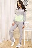 Костюм женский 167R27-1 цвет Серо-зеленый, фото 2