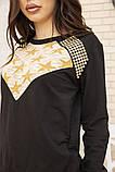 Костюм женский 167R13-1 цвет Черный, фото 6