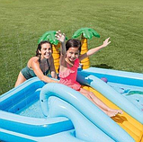 Детский Игровой центр 57161 Джунгли, 257-216-84см, бассейн, горка, фото 2