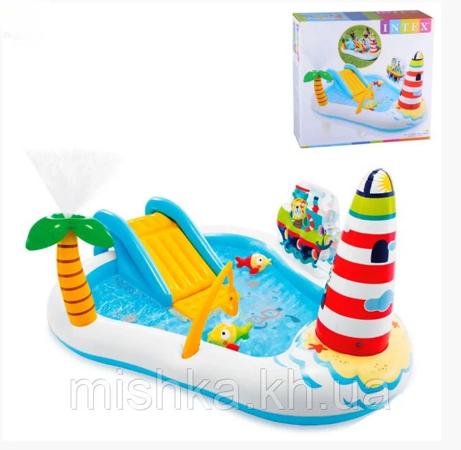 """Детский игровой центр 57162 """"Веселая рыбка"""", размер 218-188-99 см"""
