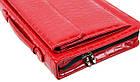 Папка для документів з еко шкіри під крокодила Portfolio Portak-19 червона, фото 4