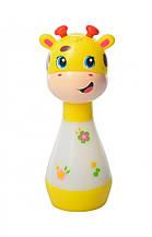 """Детская погремушка-ночник """"Жираф"""" со звуковыми эффектами BA6891 (Желтый)"""