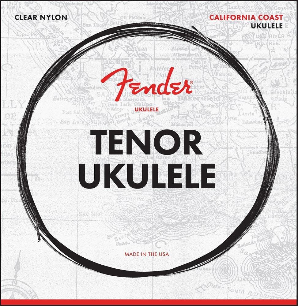 Струни для укулеле FENDER UKULELE STRINGS, TENOR