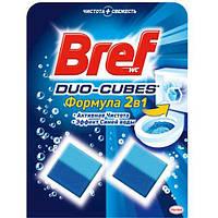 Чистящие кубики для унитаза Bref Дуо-Куб (100г.)