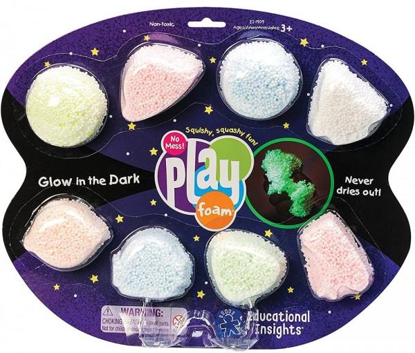 Набір кулькового пластиліну Educational Insights Космічне сяйво, 8 кольорів