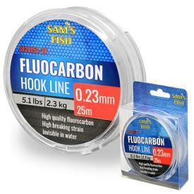 """Ліска """"100% Fluocarbon"""" 25м*0.23 мм 10шт/уп"""
