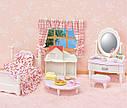Sylvanian Families Ванільна кімната дівчинки 5285 ліжко з туалетним столиком Calico Critters CC1747, фото 4