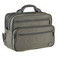 Мужская сумка Wallaby 36х26х16 см Хаки в 26531х, КОД: 1373655