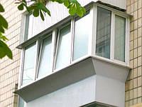 """Металлопластиковый балкон в """"Хрущевке"""""""