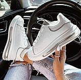 Классические белые кроссовки женские, фото 3