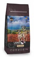 Сухий корм Landor ADULT GRAIN FREE LAMB & POTATO з бататом і ягням для будь-якої собаки 1 кг
