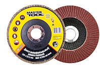 Диск шліфувальний пелюстковий Т27 зерно 120 125*22 мм MASTERTOOL 08-2212