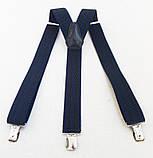 Мужские подтяжки сине-черные, фото 2