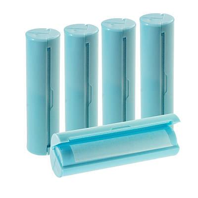 Дорожный набор мыльной бумаги в портативной закрытой мыльнице, Голубой