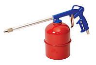 Пневмопістолет для нефтевания МОВІЛЬ бак 900 мл Ø 4,5 мм 3-4 бар MASTERTOOL 81-8705