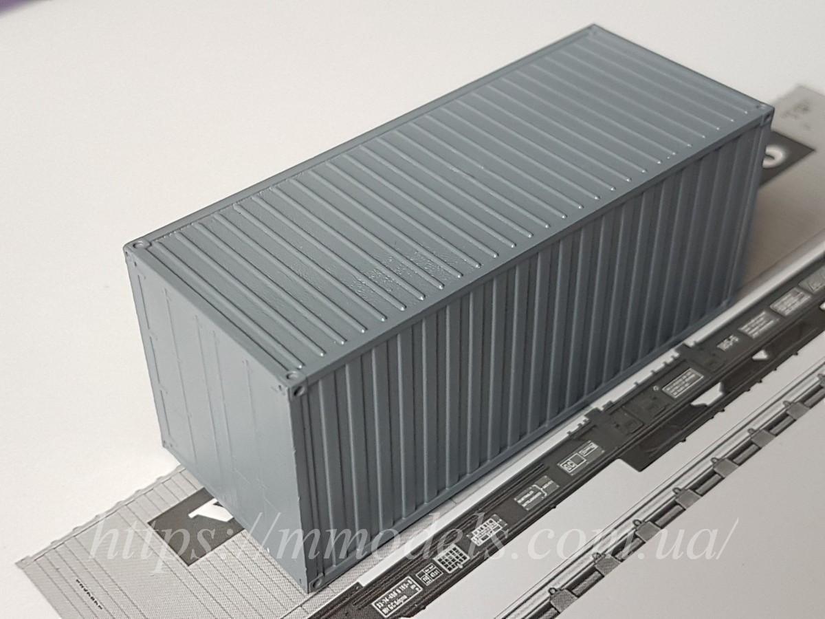 Аксесуары для железнодорожного моделирования - Контейнер 20 футовый принадлежности СЖД