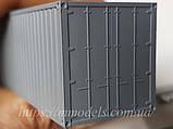 Аксесуары для железнодорожного моделирования - Контейнер 20 футовый принадлежности СЖД, фото 3