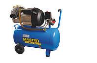 Компресор 50 л, 3,0 кВт, 420 л/хв. 8 атм, 2 виходи MASTERTOOL КПП-50-2