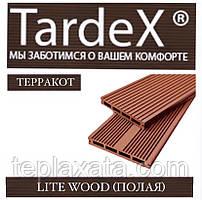 Доска для забора из ДПК TARDEX LITE WOOD 140х20х2200 мм