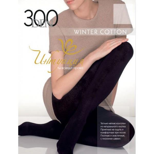 Колготки Интуиция Winter Cotton 300 den