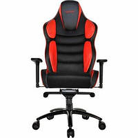 Крісло для геймерів HATOR чорний/червоний