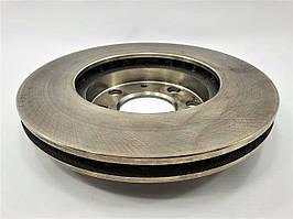 Тормозной диск передний Lanos GROG Корея