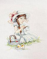 Набор для вышивания нитками Повышивать